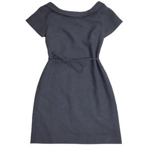 Tory Burch Boat Neck Sheath Dress Size 8